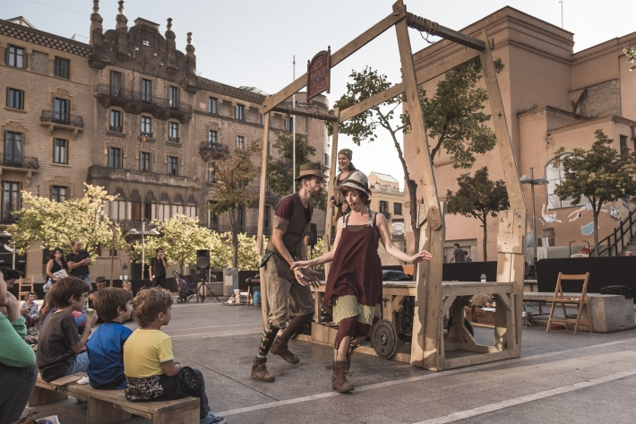 """Espectacle """"Teatre arrossegat de Catalunya"""""""