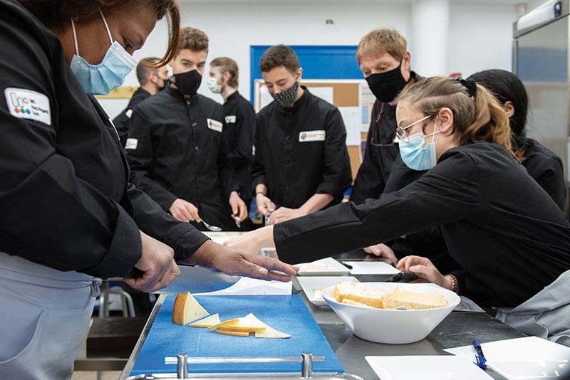 Punt gastronòmic de l'Escola d'Hoteleria del Pallars